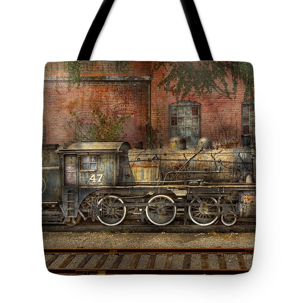 Locomotive - Our old family business Tote Bag by Mike Savad