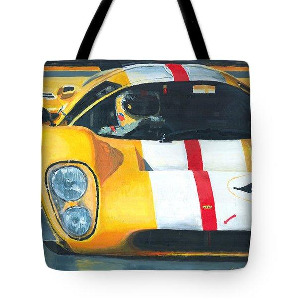 Lola T70 Mkiii/b 1969/1970 Season Cars Sebring Le Mans Tote Bag by Yuriy Shevchuk