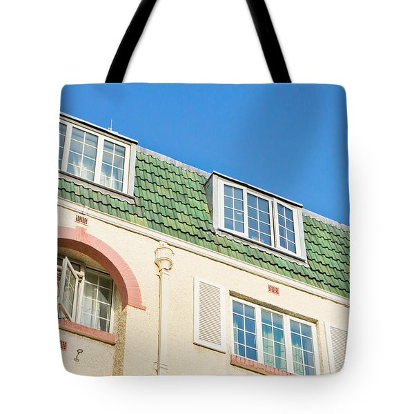 London apartments Tote Bag by Tom Gowanlock