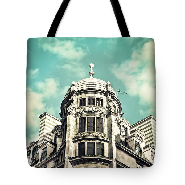 London Architecture Tote Bag by Tom Gowanlock