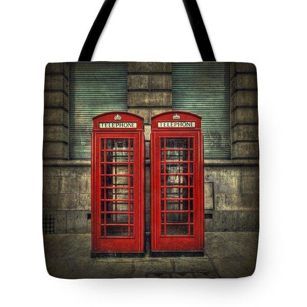 London Calling Tote Bag by Evelina Kremsdorf