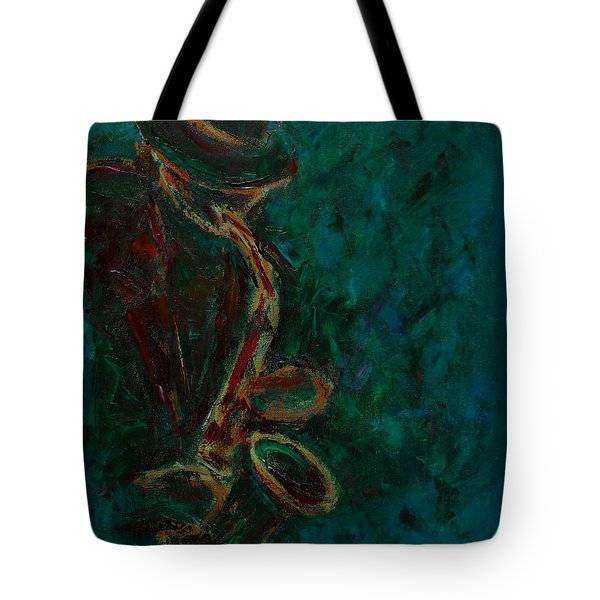 Lonely Jazz Tote Bag by Xueling Zou