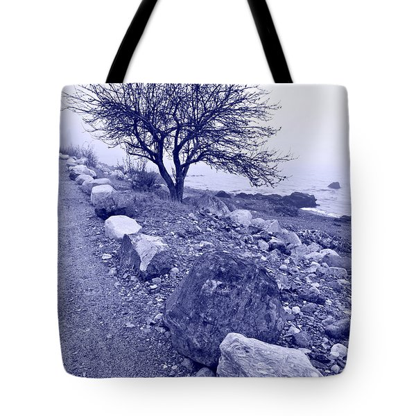 Lonely Road 2 Tote Bag by Bill Caldwell -        ABeautifulSky Photography