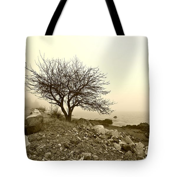 Lonely Road Tote Bag by Bill Caldwell -        ABeautifulSky Photography
