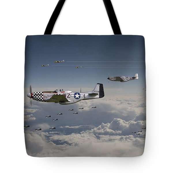 Long Road Home Tote Bag by Pat Speirs