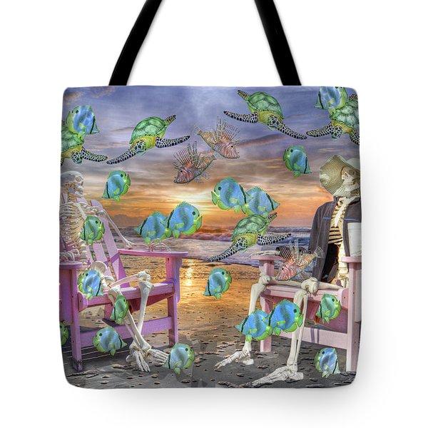 Long Strange Trip  Tote Bag by Betsy C  Knapp