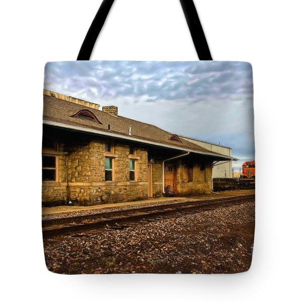 Longmont Depot Tote Bag by Jon Burch Photography