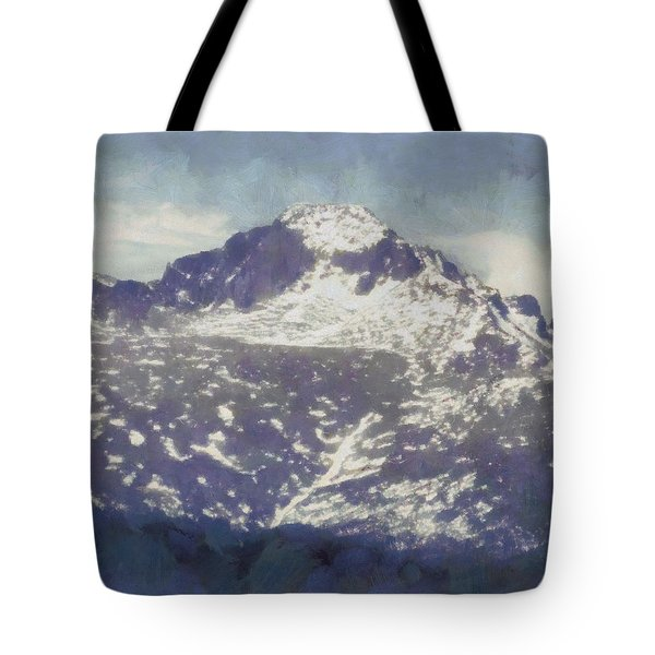 Longs Peak Tote Bag by Dan Sproul