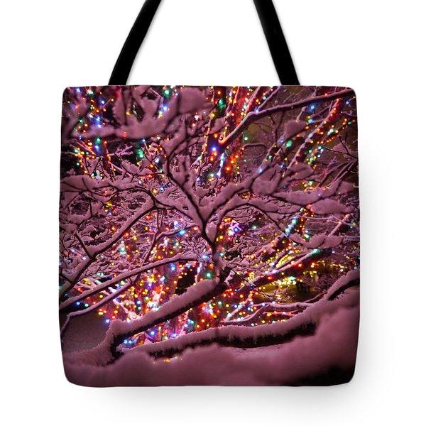 Longwood Lights 1 Tote Bag by Richard Reeve