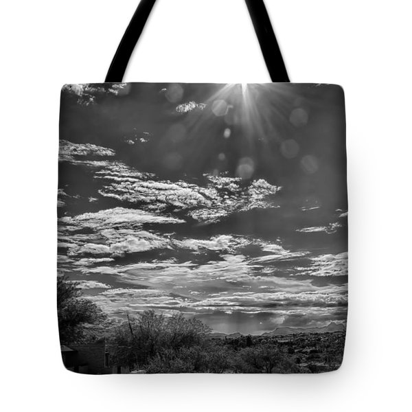 Look To The Western Sky Tote Bag by Judi FitzPatrick
