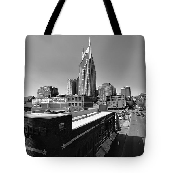 Looking Down On Nashville Tote Bag by Dan Sproul