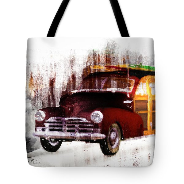 Looking For Surf City Tote Bag by Bob Orsillo