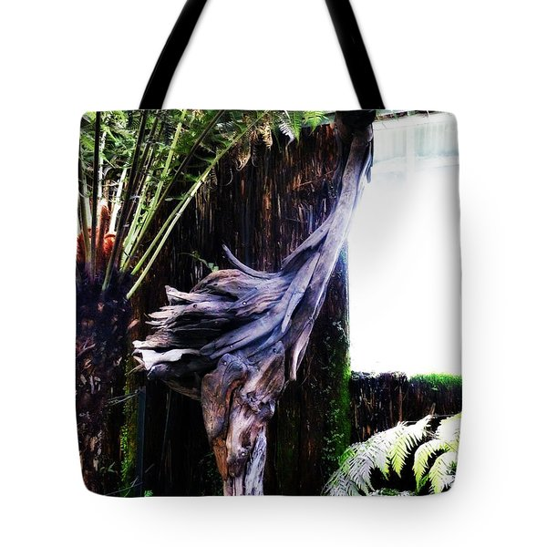 Looking Through The Window Of Extinction Tote Bag by Steve Taylor