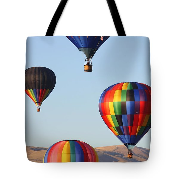 Looking Up Tote Bag by Carol Groenen