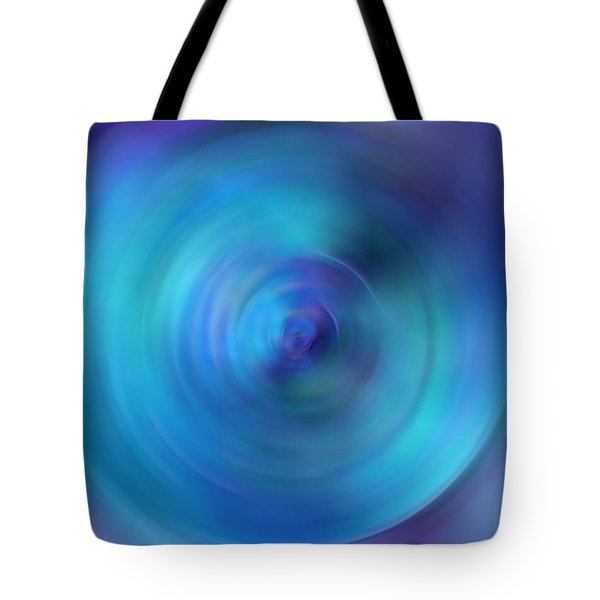 Looking Within - Energy Abstract Art By Sharon Cummings Tote Bag by Sharon Cummings