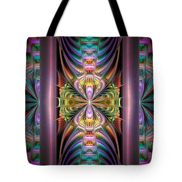 Loonie Behind Bars Tote Bag by Peggi Wolfe