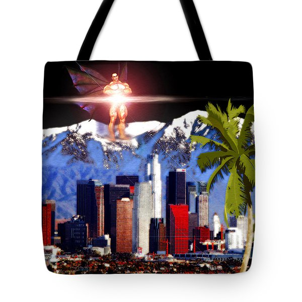 Los Angeles Tote Bag by Daniel Janda