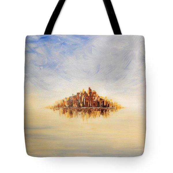 Lost City Tote Bag by Lilia D