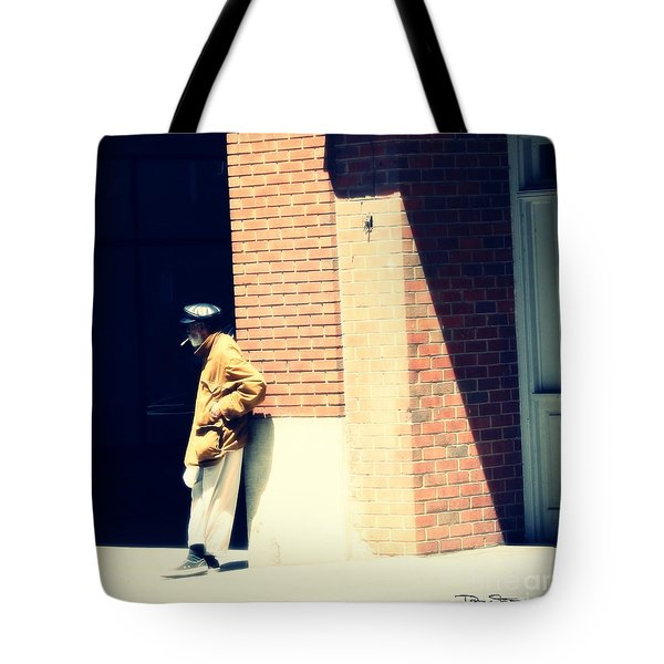 Lost In A World He Doesn't Know Tote Bag by Dan Stone