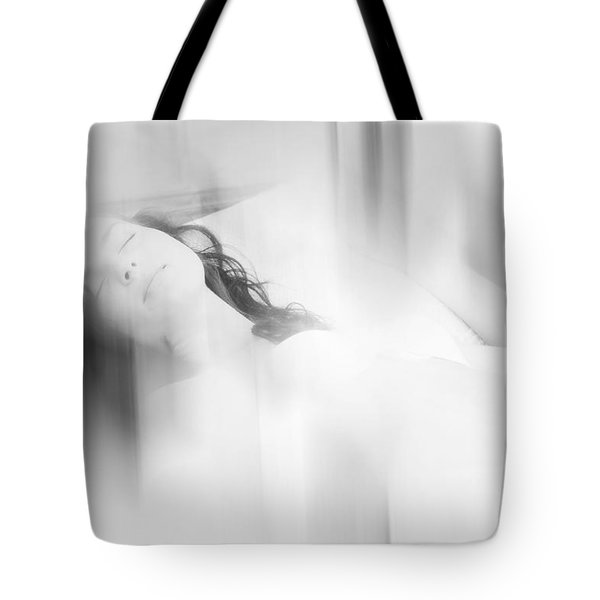 Lost In The Dreams. Boudoir Photography 7. Impressionism. Exclusively For Faa Tote Bag by Jenny Rainbow