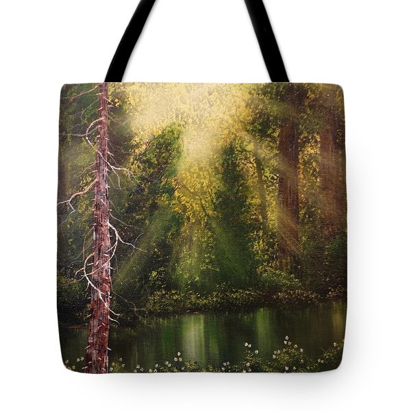 Lost In Thought Tote Bag by Xochi Hughes Madera