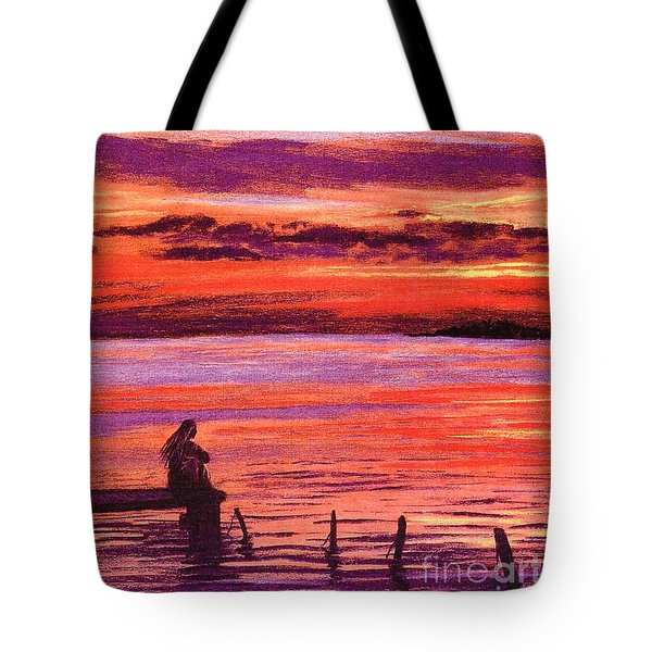 Lost In Wonder Tote Bag by Jane Small