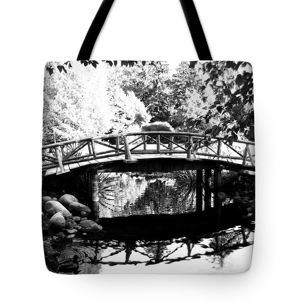 Lost Lagoon Bridge  Tote Bag by Will Borden