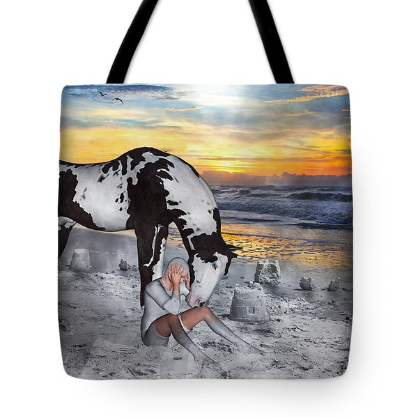 Lost Love Tote Bag by Betsy A  Cutler