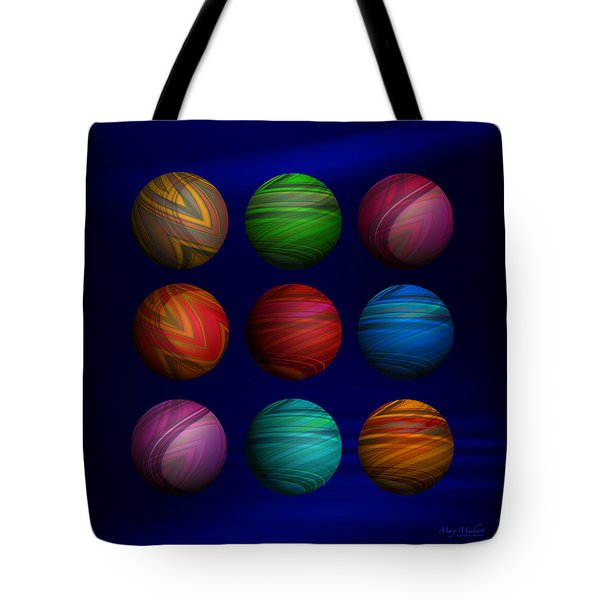 Lost My Marbles Tote Bag by Mary Machare