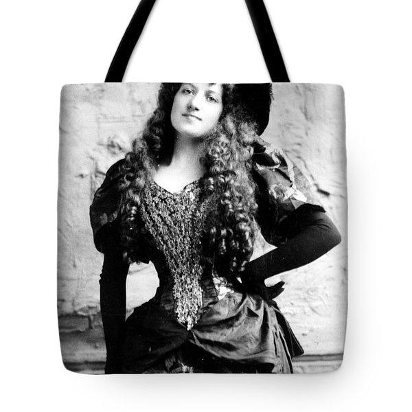 Lottie Collins Tote Bag by Studio Artist