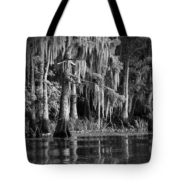 Louisiana Bayou Tote Bag by Mountain Dreams