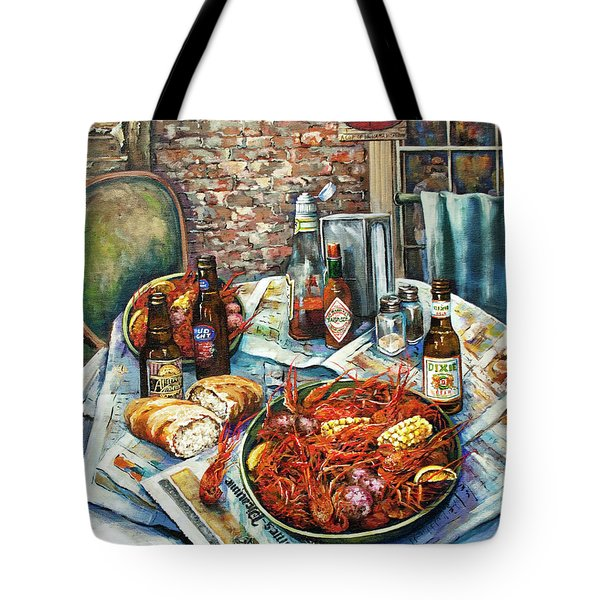 Louisiana Saturday Night Tote Bag by Dianne Parks