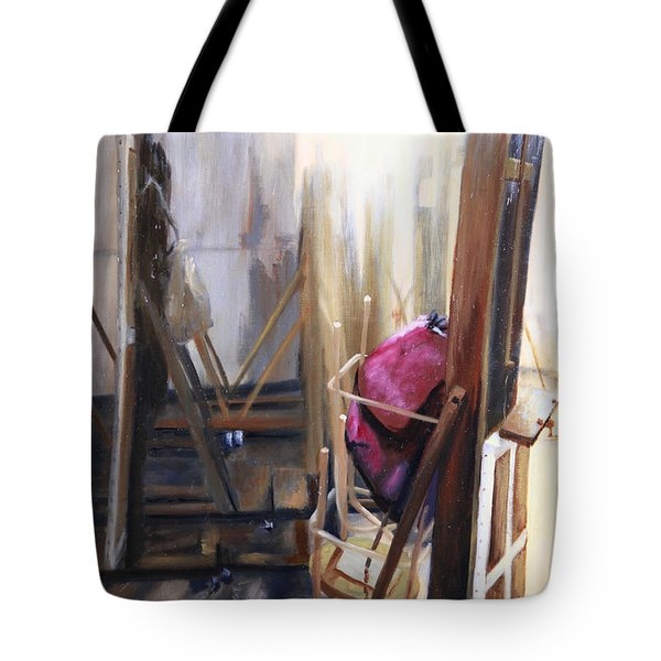 Louvre Closet Tote Bag by Shelley Irish