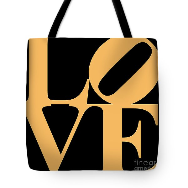 Love 20130707 Orange Black Tote Bag by Wingsdomain Art and Photography