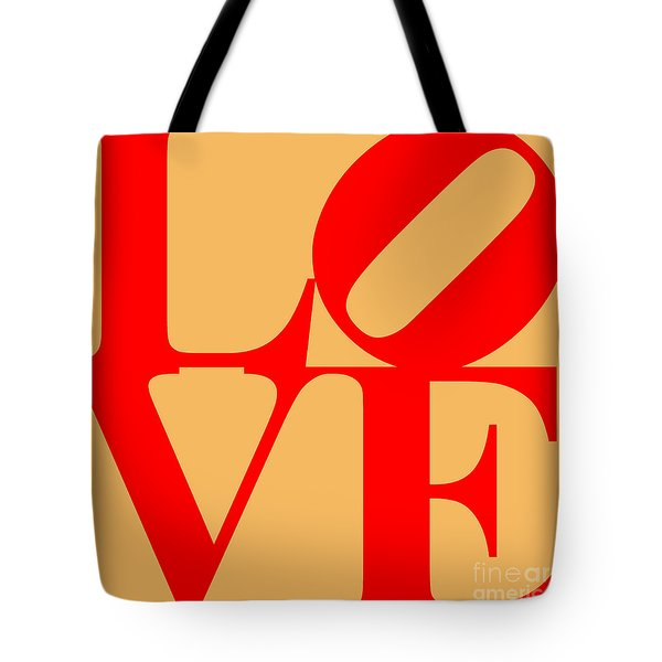 Love 20130707 Red Orange Tote Bag by Wingsdomain Art and Photography