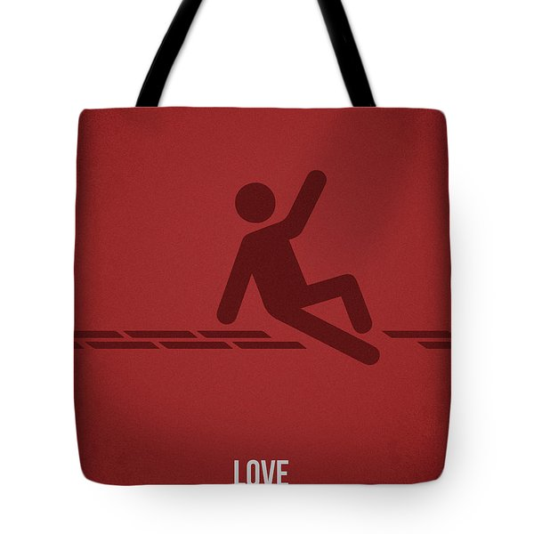 Love Tote Bag by Aged Pixel