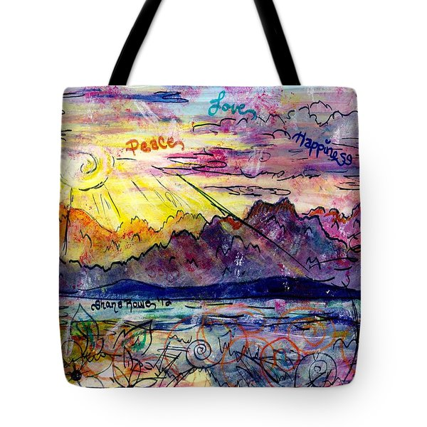 Love And Be Loved Tote Bag by Shana Rowe Jackson