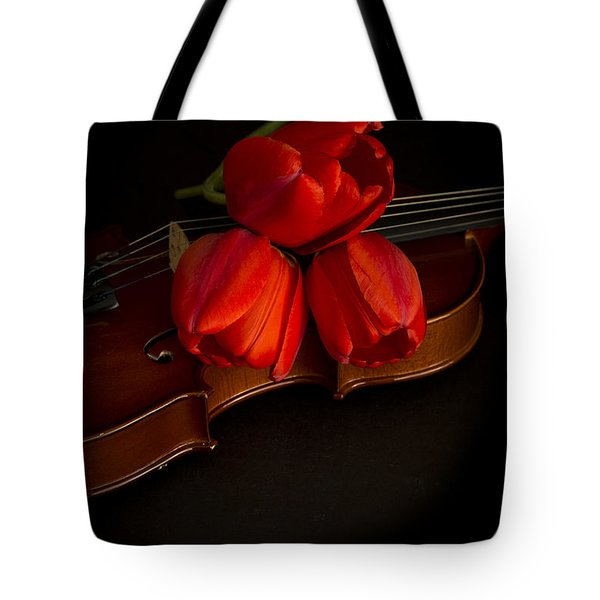 Love And Romance Tote Bag by Edward Fielding