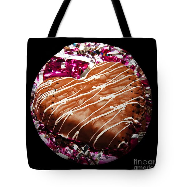 Love Baseball Square Tote Bag by Andee Design