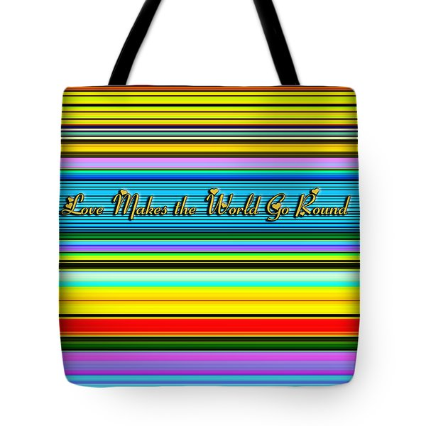 Love Tote Bag by Chuck Staley