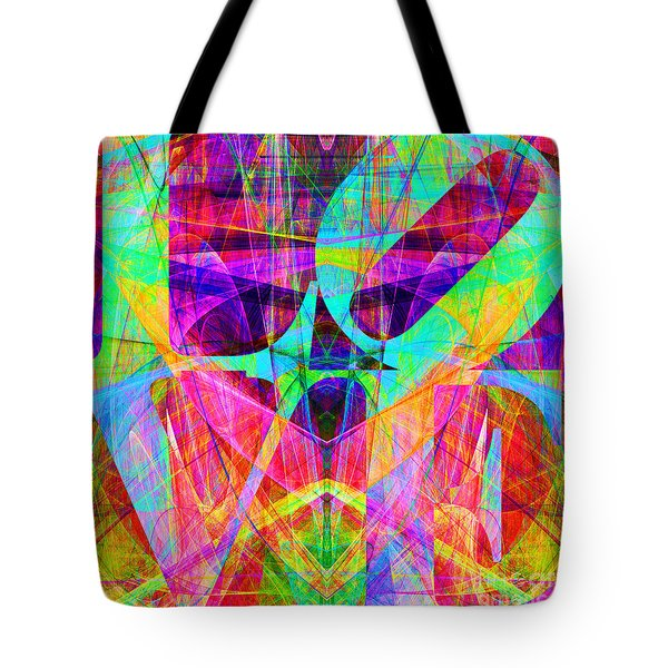 LOVE Fractals 20130707 Tote Bag by Wingsdomain Art and Photography