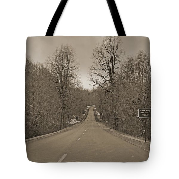 Love Gap Blue Ridge Parkway Tote Bag by Betsy A  Cutler