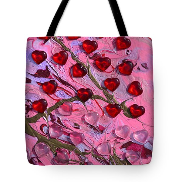 Love Grows Tote Bag by Donna Blackhall