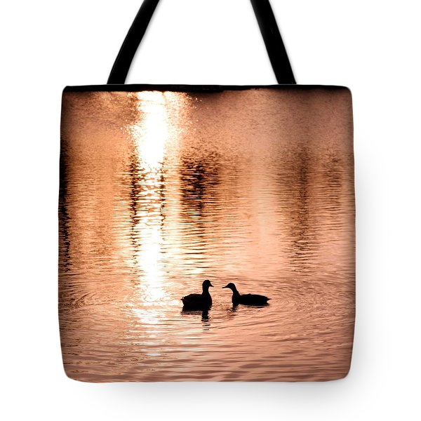 love in water Tote Bag by Hilde Widerberg