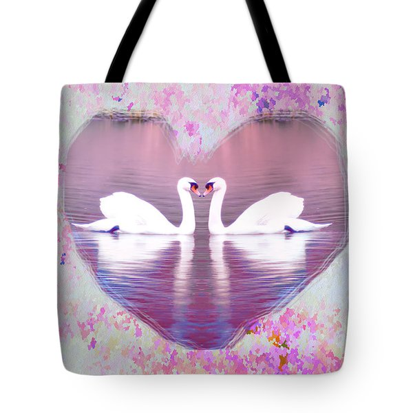 Love is Everywhere Tote Bag by Bill Cannon