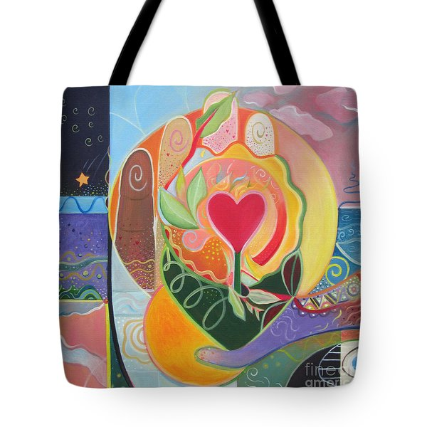 Love Is Love Tote Bag by Helena Tiainen