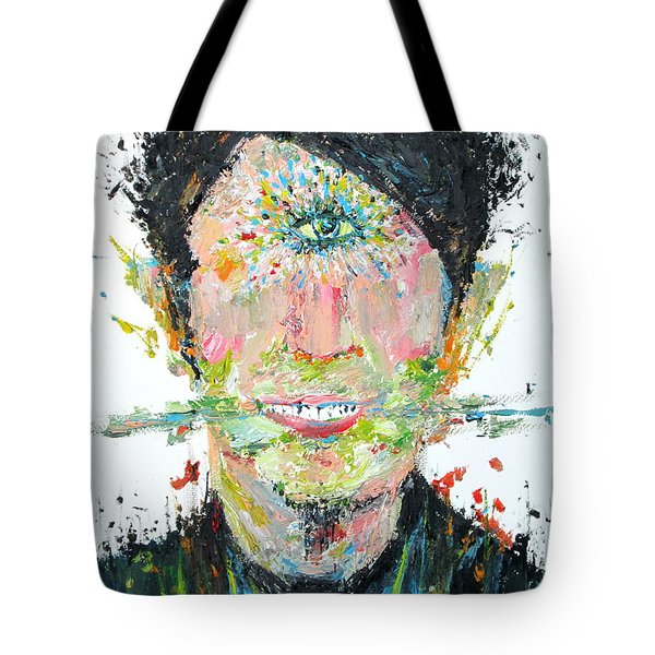 Love Me Do Tote Bag by Fabrizio Cassetta