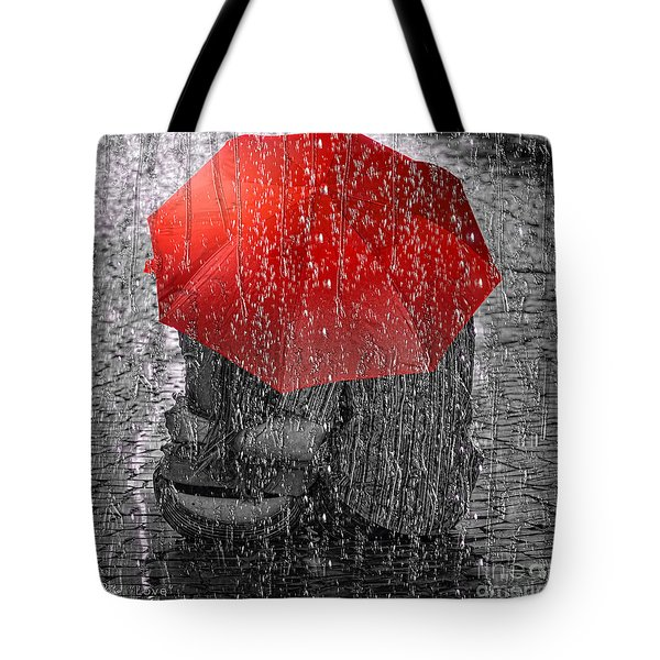 Love Tote Bag by Mo T
