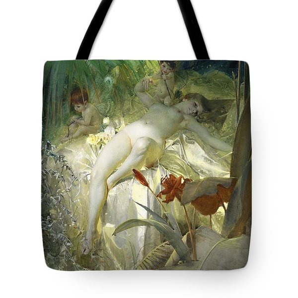 Love Nymph Tote Bag by Anders Zorn