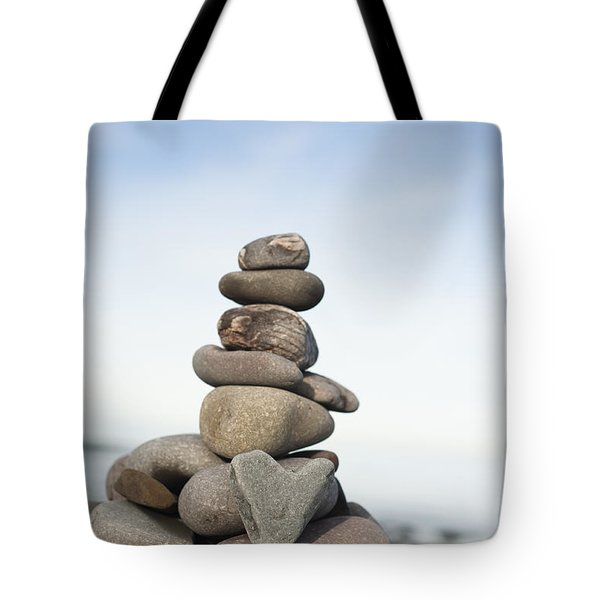 Love On The Rocks Tote Bag by Anne Gilbert